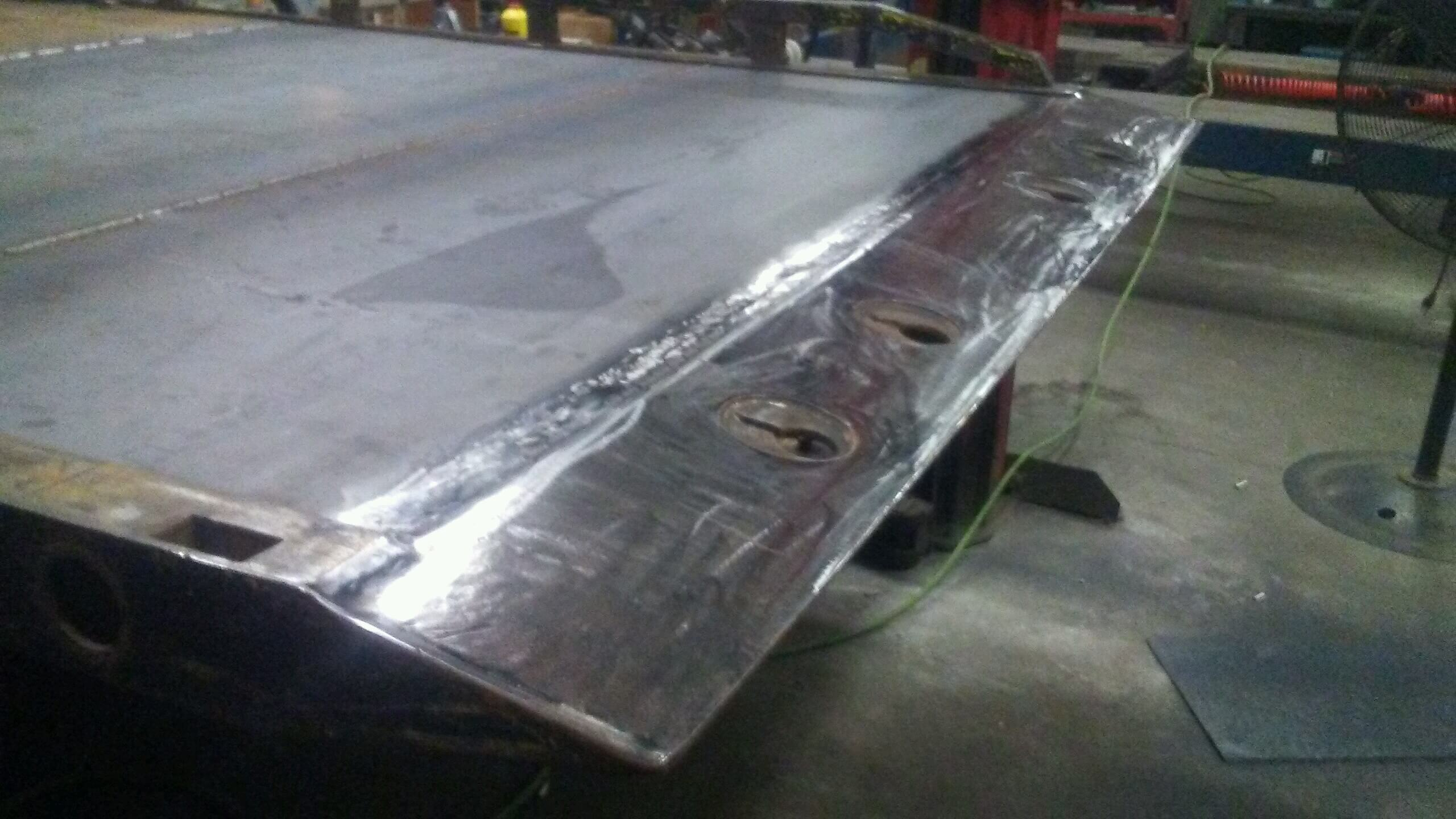 Back Of Flatbed