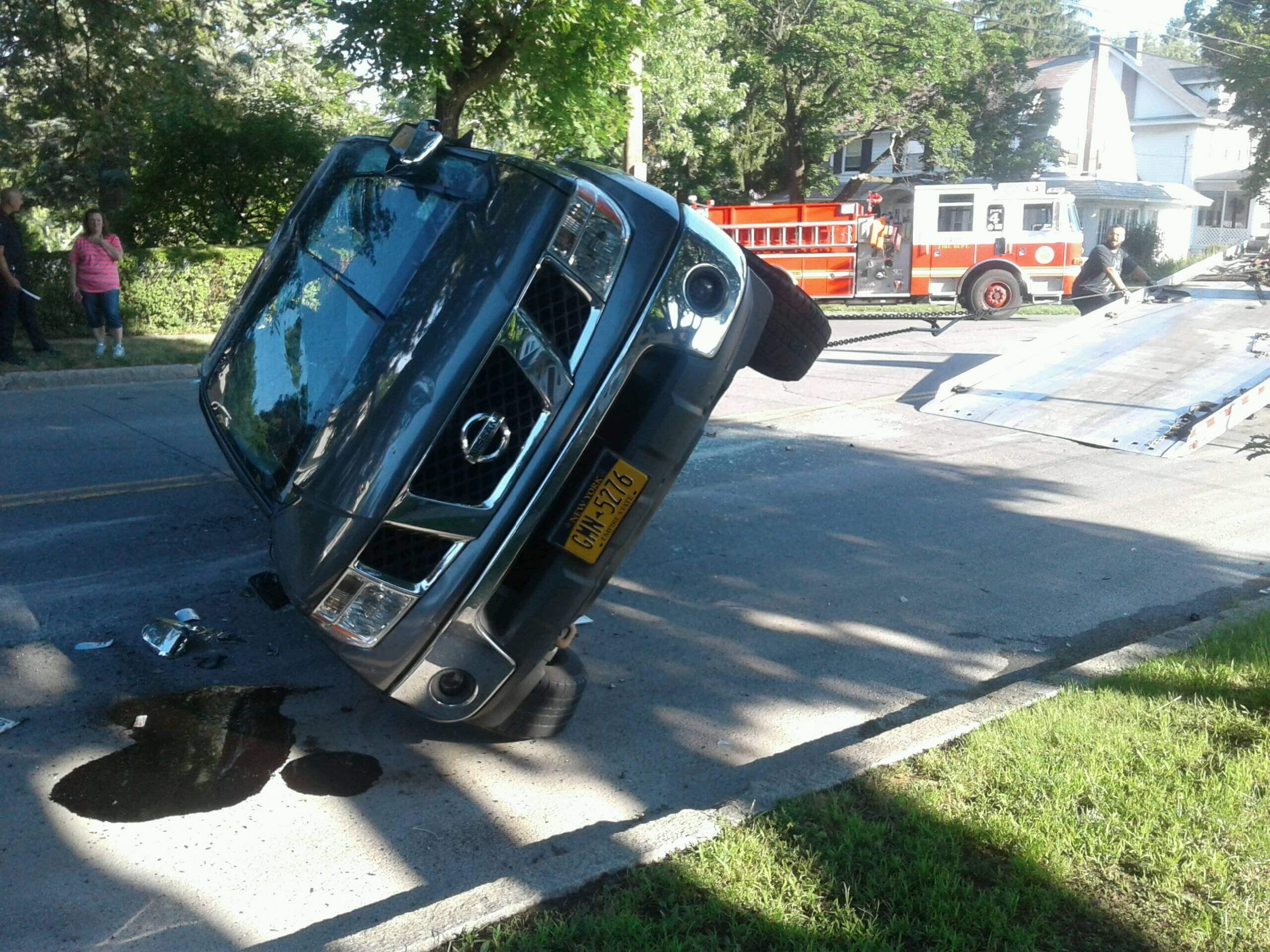 Nissan Suv Tilted