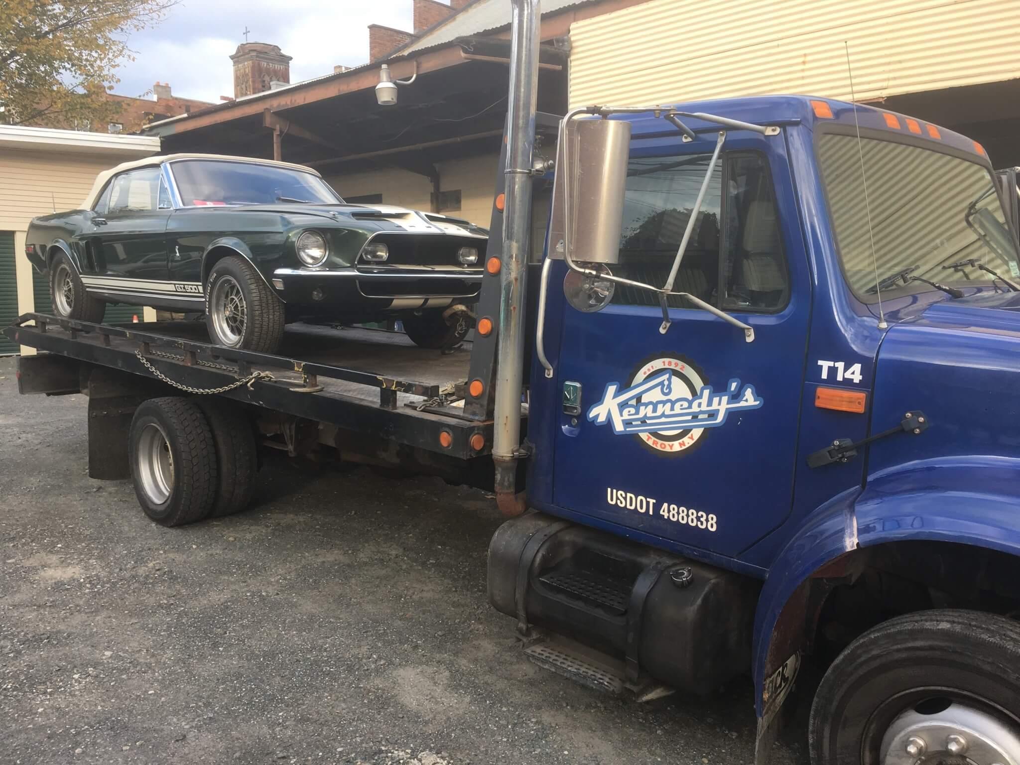 Towing Mustang Gt 500